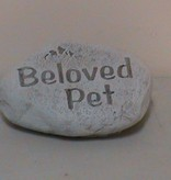 Beloved Pet Memorial Rock