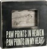 Box Frame - Pawprints in Heaven