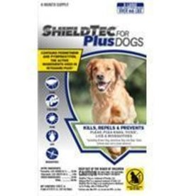 Shieldtec Plus For Dogs  66-Up lbs,  4-Pack