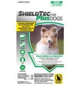 Shieldtec Plus/ Zodiac For Dogs 16-33 lbs,  4-Pack