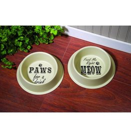 RIGHT MEOW FOOD SAFE BOWL SET OF 2