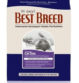 Dr. Gary's Best Breed Dr. Gary's Best Breed CAT Grain Free Chicken/Whitefish/Egg  30lb