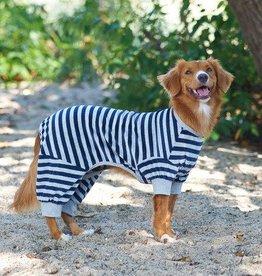 Large Striped Pajama - Blue