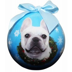 Ball Ornament - French Bull Dog