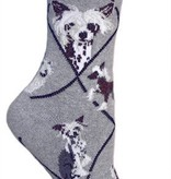 Chinese Crested Socks
