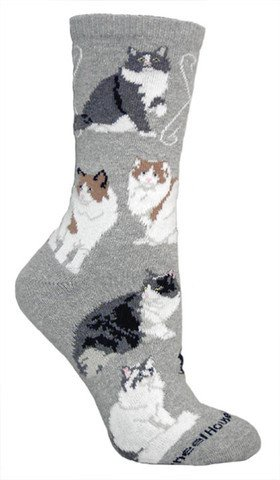 Cat-Ragamuffin Socks