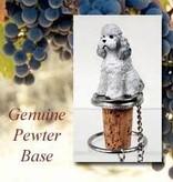 Bottle Topper-Poodle (Gray)