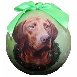 Ball Ornament - Vizsla