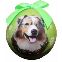 Ball Ornament - Australian Shepherd