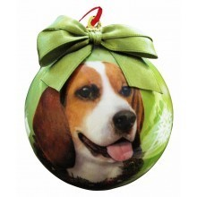 Ball Ornament - Beagle