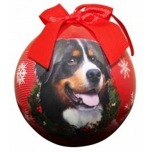Ball Ornament - Bernese Mountain Dog