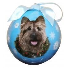 Ball Ornament - Cairn Terrier