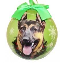 Ball Ornament - German Shepherd