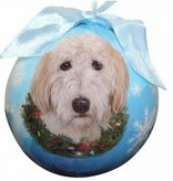 Ball Ornament - Goldendoodle