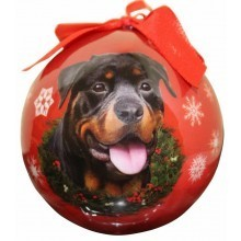 Ball Ornament - Rottweiler