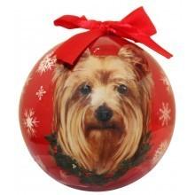 Ball Ornament - Yorkie