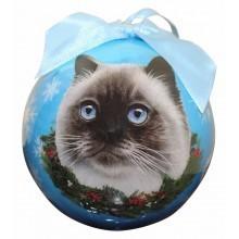 Ball Ornament - Himalayan Cat