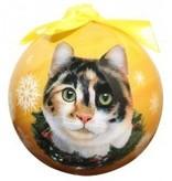 Ball Ornament - Calico Cat