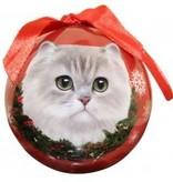 Ball Ornament - Persian Cat