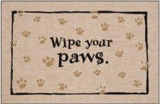 Door Mat-Wipe Your Paws