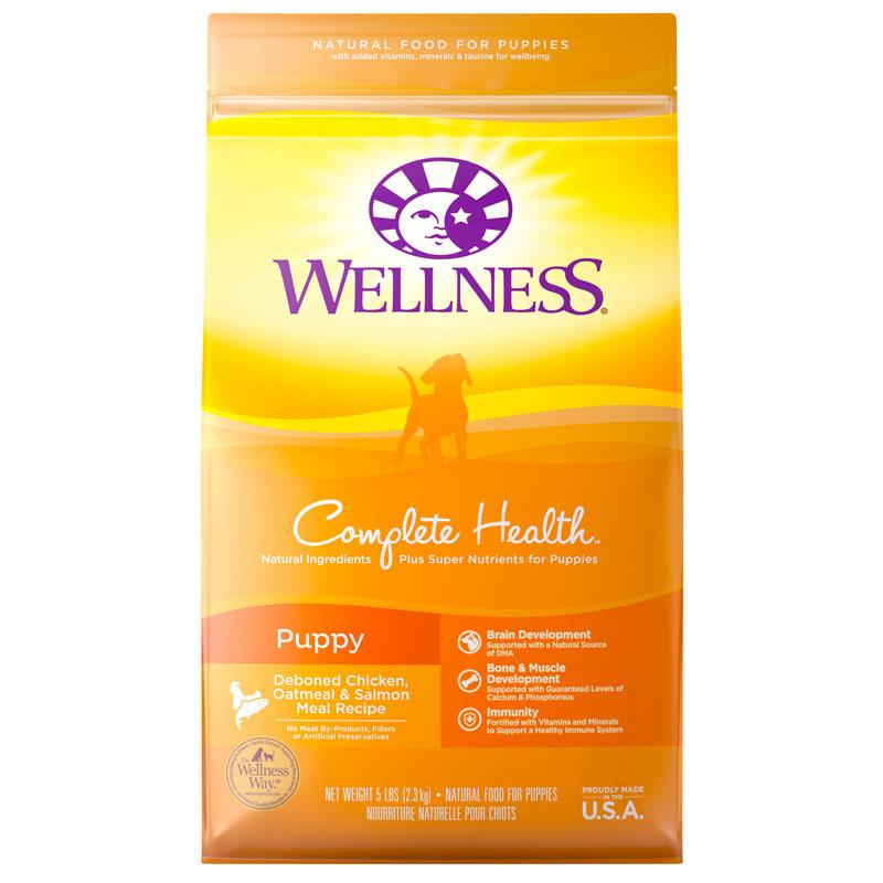 WELLNESS 5 LB PUPPY COMPLETE HEALTH EA