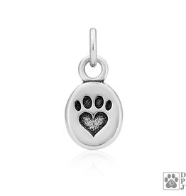 Sterling Silver Paws Pendant