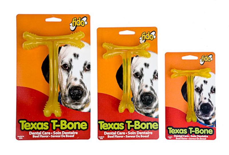 FIDO MED DOG TEXAS T BONE BEEF FLAVOR EA