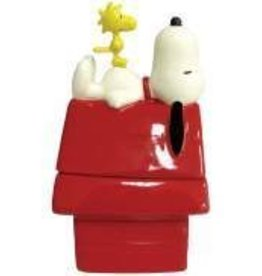 Snoopy Figurine S&P Doghouse Snoopy & Woodstock