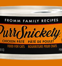 FROMM 5.5 OZ CAT PURRSNICKETY CHICKEN PATE CAN