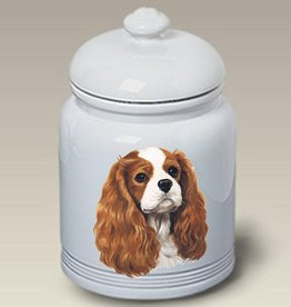 Cookie Jar Cavalier King Charles Spaniel