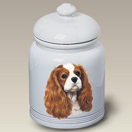 Cookie Jar Cavalier King Charles Spaniel