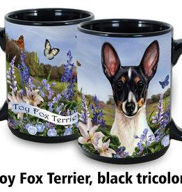 Toy Fox Terrier Black Tri-Color 11oz Coffee Mug
