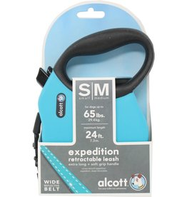 ALCOTT EXPEDITION RETRACTABLE BELT LEASH 65lbs, 24ft