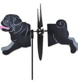 Petite Spinner-Pug, Black