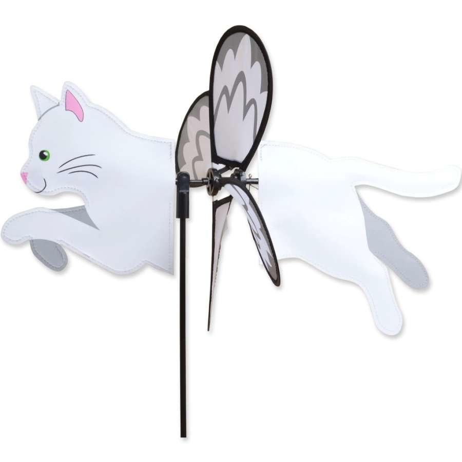 Petite Spinner-White Cat