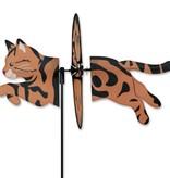 Petite Spinner-Tabby Cat