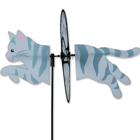 Petite Spinner-Grey Tabby Cat