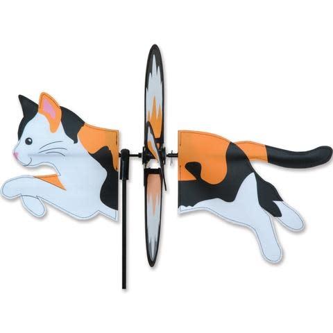 Petite Spinner-Calico Cat