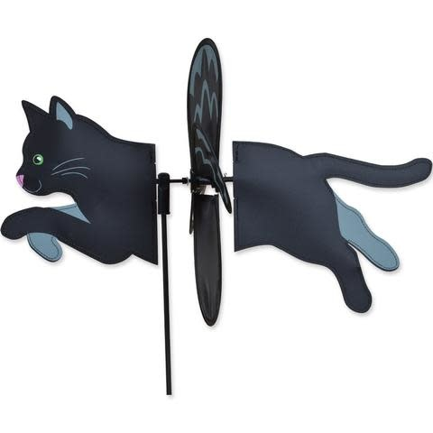 Petite Spinner-Black Cat