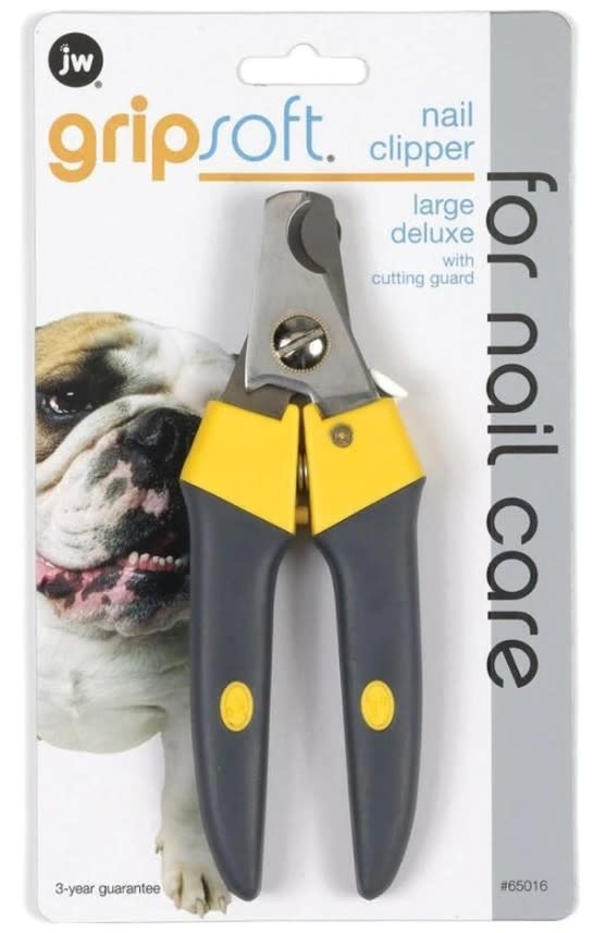JW GRIPSOFT DELUXE NAIL CLIPPER  LARGE DOGS