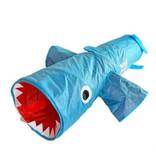 """Jumpin Jaws Shark Play Tunnel 38"""" Long"""