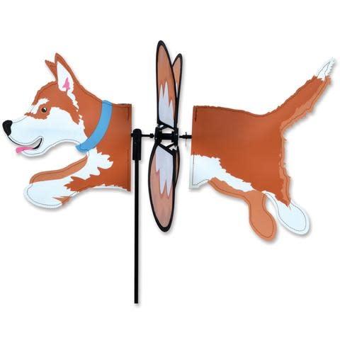 Petite Spinner-Husky Brown