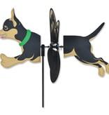 Petite Spinner-Chihuahua Black & Tan