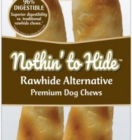 """5""""  Nothin to Hide Beef Chews Dog Treats, 2 Pack"""