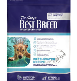 Dr. Gary's Best Breed Dr. Gary's Best Breed FRESHWATER RECIPE Catfish & Whole Grains-13 lbs