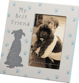 Plaque Frame - My Best Friend,  Holds 4x6 Photo