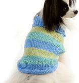 M-Lookin Good Blue Stripe Sweater