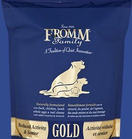 Fromms Gold 33lb Senior Reduced Activity Dog Food