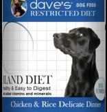 DAVES 13.2 OZ DOG RESTRICT DIET BLAND CHICKEN & RICE 13.2oz Can