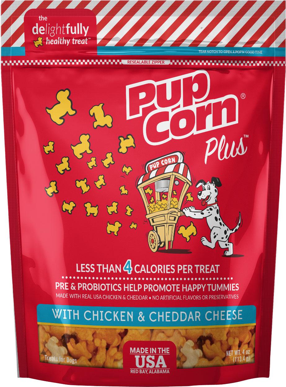 Pupcorn-Chicken & Cheddar 4oz